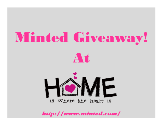 Giveaway-Minted