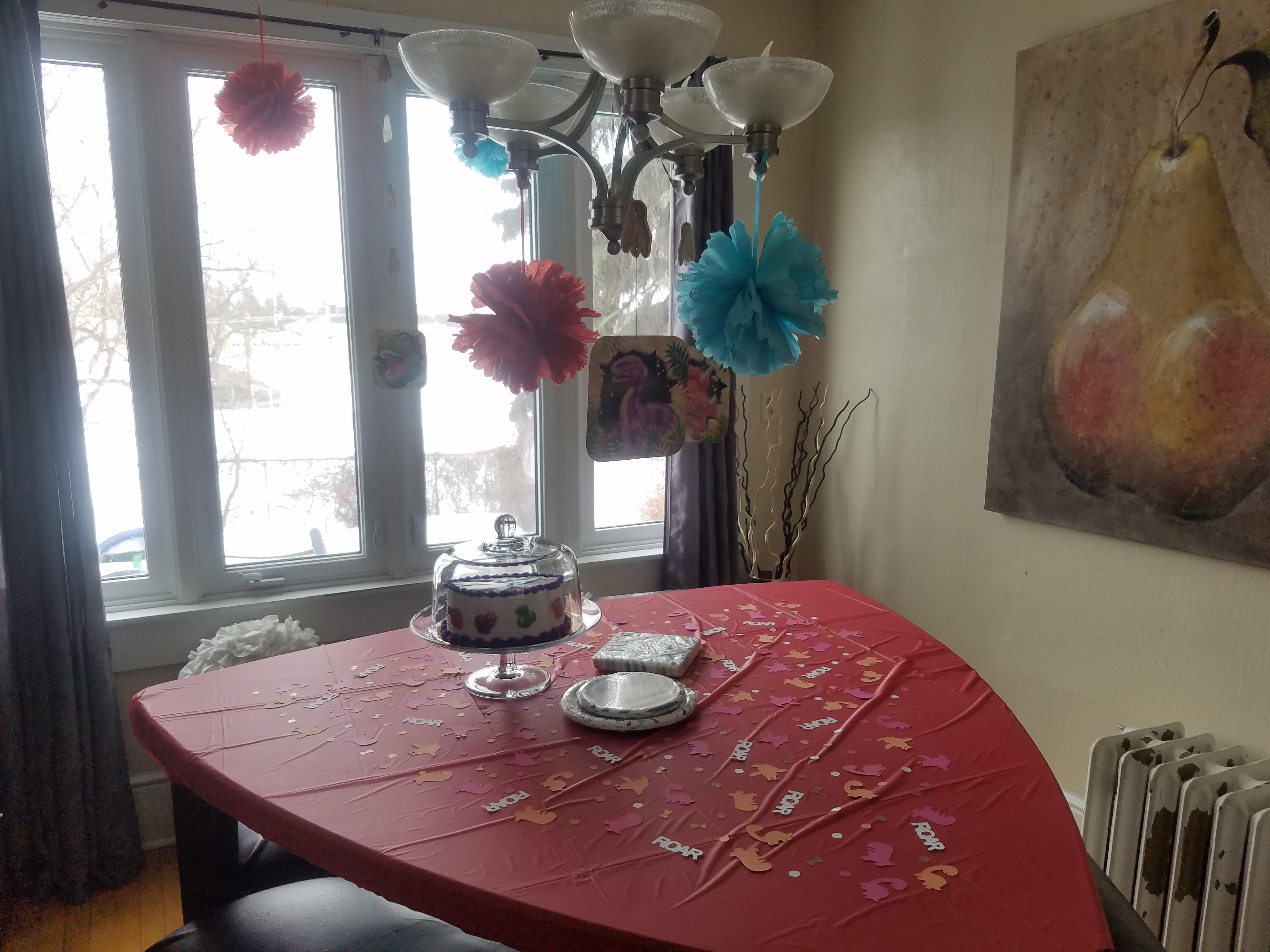 Dinosaur Birthday Party Heart Loves Home