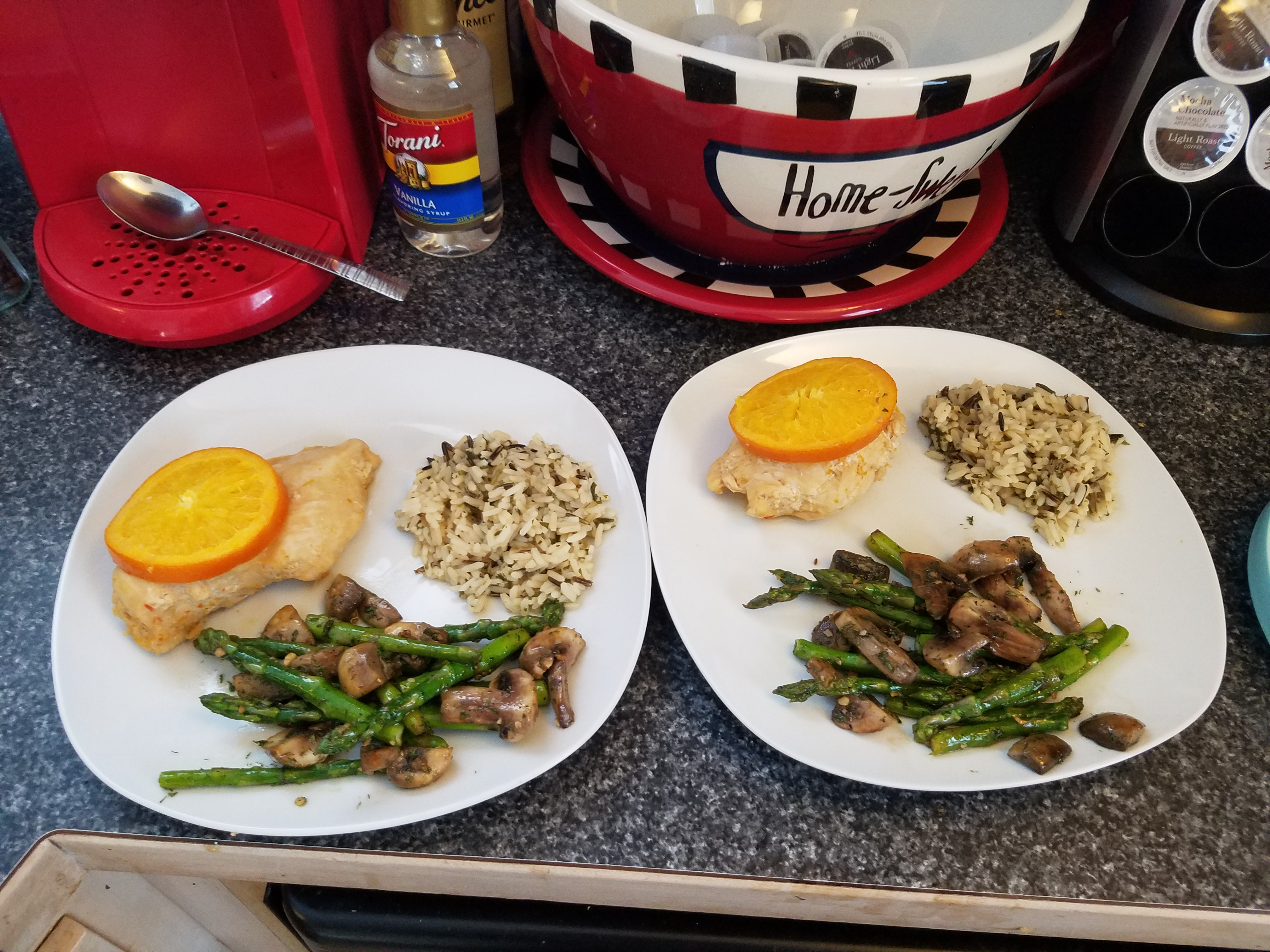 What to cook for dinner to her husband